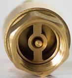 Клапан обратный подпружиненный Genebre (Испания) 3121 10 DN65 PN25 ДУ65 РУ25 (латунь), фото 2