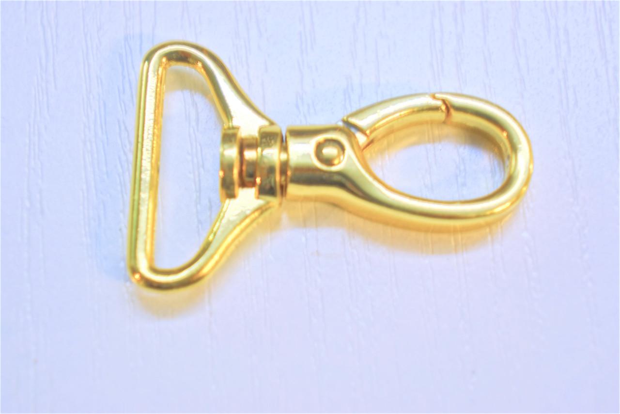 Карабін 5949 золото 25 мм.