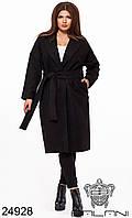 Пальто классика большой размер в расцветках
