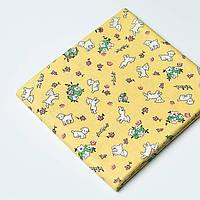 Ткань Toy Lambs Yellow