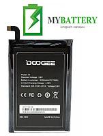 Оригинальный аккумулятор АКБ батарея для Doogee T6 / T6 Pro 6250mAh 3.8V