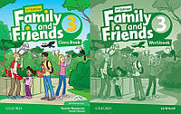 Английский язык Комплект Family and Friends 2nd Second Edition 3 ClassBook + WorkBook