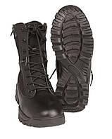 Ботинки тактические 2 молнии, black