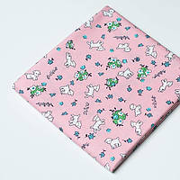 Ткань Toy Lambs Pink