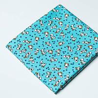Ткань Toy Ducks BLUE