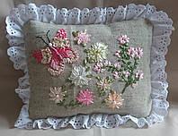 """Интерьерная подушка """"Нежные цветы"""", фото 1"""