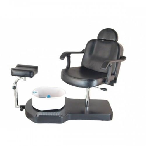 Кресло педикюрное ЮВА 6821bl чёрное