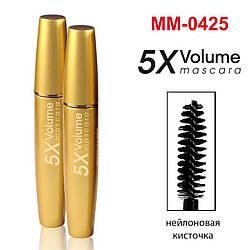 MM-0425 Туш Gold Mascara Volume 5 X (Black) (уп-4 шт)