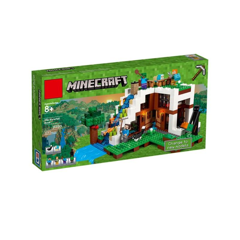 """Конструктор """"База на водопаде"""" Bela 10624 Minecraft 747 деталей"""