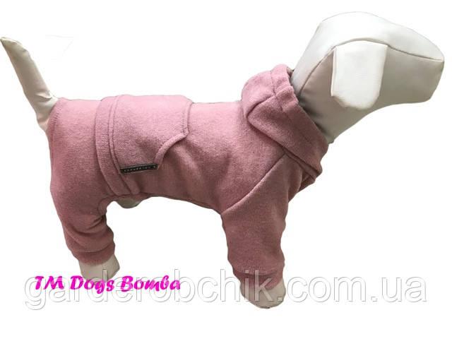 Комбинезон, костюм  трикотажный для собаки D-42.  Одежда для собак