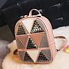 Женский рюкзак треугольники, фото 2