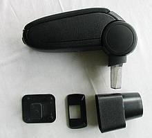 Chevrolet Aveo T250 подлокотник черный ASP тканевый