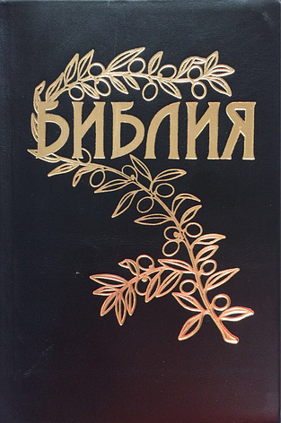 Библия Геце кожаная, цветные карты, фото 2