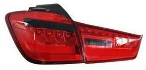 Mitsubishi ASX альтернативная задняя LED  светодиодная оптика красная