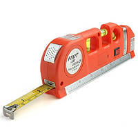 ТОП ВИБІР! Лазерний рівень - рулетка laser level pro 3 (рулетка 2,5 метра)