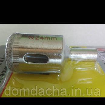 Коронки по плитці,Алмазне кільцеве свердло для склокераміки, фарфору, фото 2