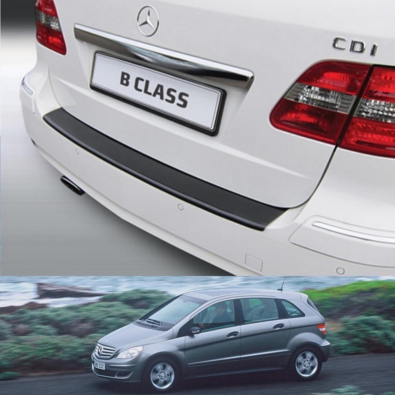 Mercedes-Benz B-Class W245 2005-2011 пластиковая накладка заднего бампера