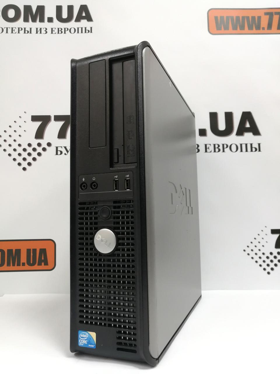 Компьютер Dell OptiPlex 780 (Desktop), Intel Core2Duo E7500 2.93GHz, RAM 4ГБ (DDR3), HDD 160ГБ