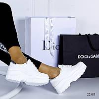 Женские кроссовки на высокой  подошве, фото 1