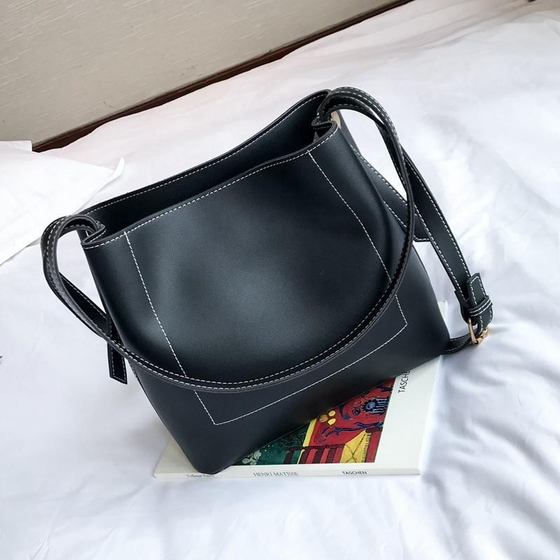 Женская сумка через плече черный
