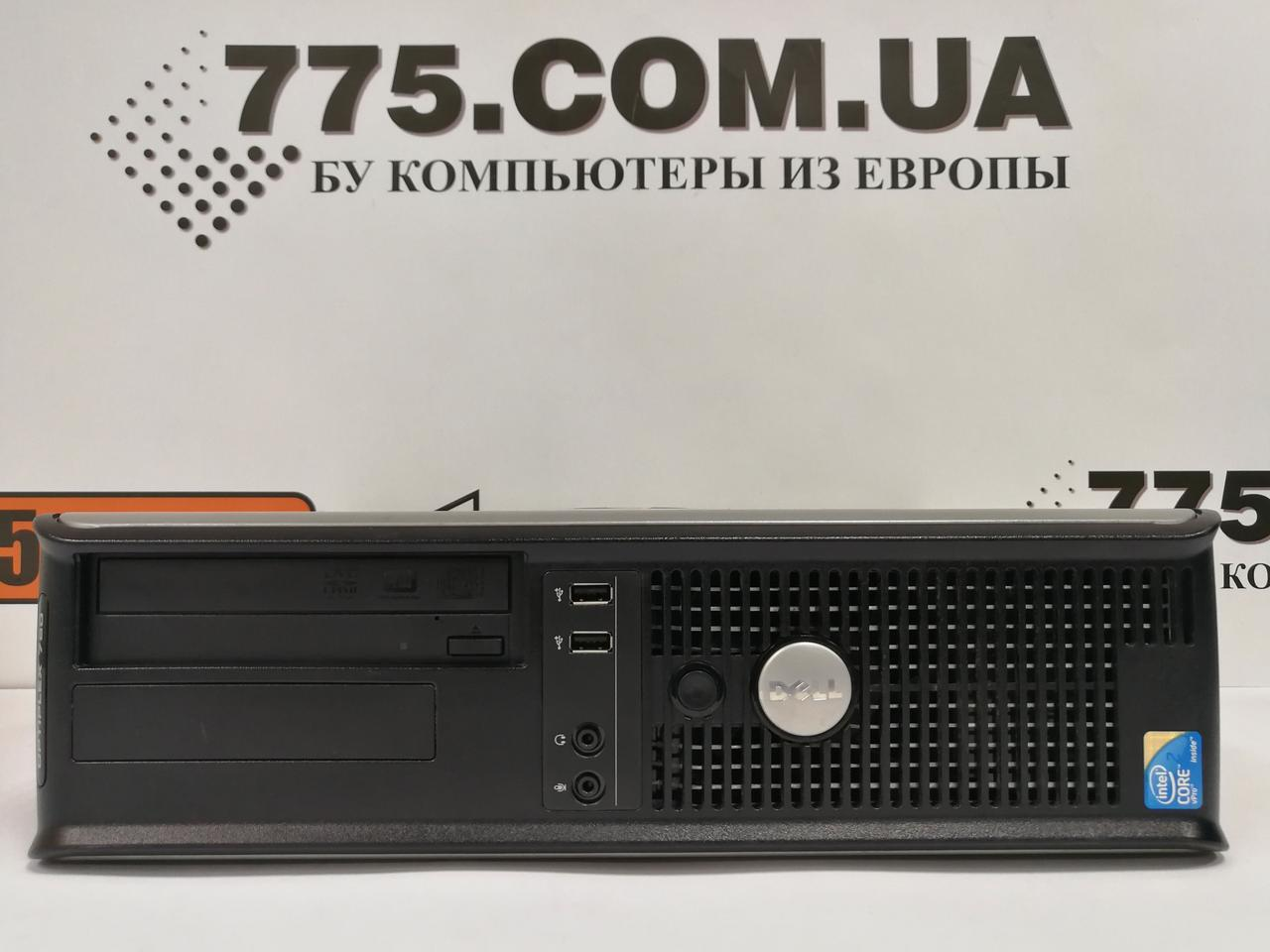 Компьютер Dell OptiPlex 780 (Desktop), Intel Core2Quad Q6600 2.4GHz, RAM 4ГБ (DDR3), HDD 160ГБ
