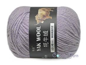 Пряжа China Yak Wool №3 Сиреневый