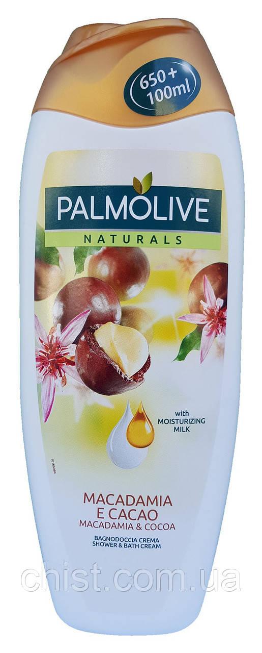 Palmolive гель-крем для душа с маслом Макадамии и Какао (750 мл)