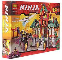 Конструктор Ninja Битва за Ниндзяго, 1223 детали