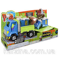 Машина - транспортер Flush Force Potty Wagon и две фигурки