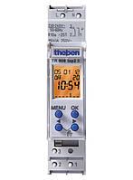 Реле времени цифровое (таймер), недельная программа, 1 модуль TR 608 top2 S Theben