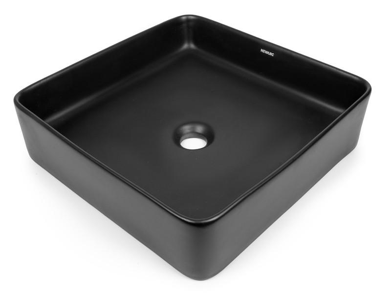 Умывальник Newarc Aqua 40 см черный матовый 9440B-M