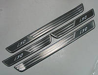 Hyundai I30 Mk1 накладки порогов дверных проемов с LED подсветкой