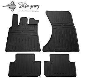 Коврики резиновые в салон Porsche MACAN 2014- (4 шт) Stingray 1052024