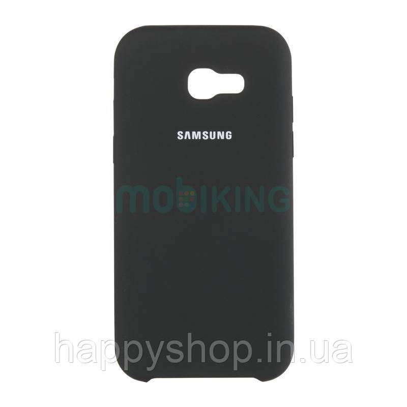 Оригинальный чехол Soft touch для Samsung Galaxy J4 2018 (J400) Black