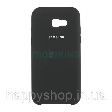 Оригинальный чехол Soft touch для Samsung Galaxy J4 2018 (J400) Black, фото 2