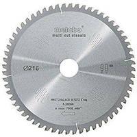 Пильный диск Metabo Multi cut HW/CT 216х2.4/1.8x30, Z60 FZ/TZ 5° отр.