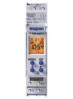 Реле времени цифровое (таймер), недельная программа, 1 модуль TR 609 top2 S Theben th 6090101