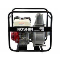 Мотопомпа для грязной воды KOSHIN STH-100X-BAA-1 (двигатель Honda GX240)