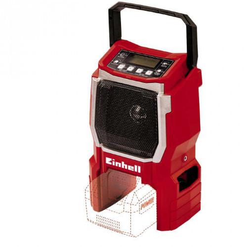 Радиоприемник аккумуляторный Einhell TE-CR18Li-Solo (каркас)