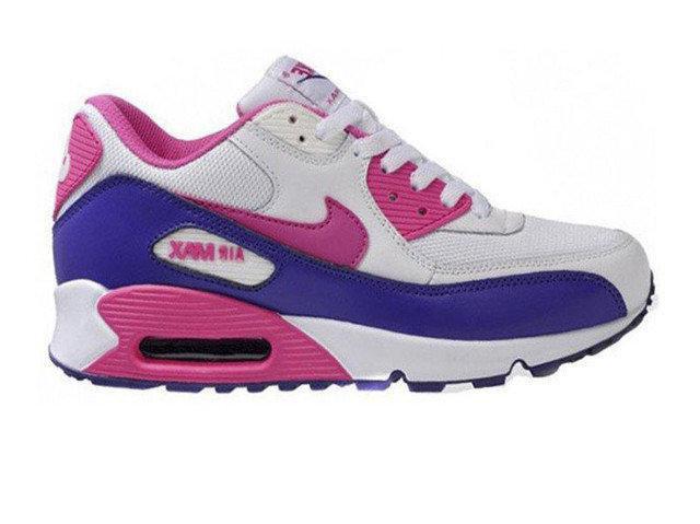 nike air max 90 purple pink white