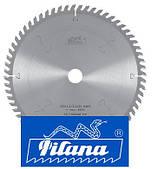 Пильный диск  для поперечного пиления  древесных материалов D-260, Z-60.  Pilana (Чехия)