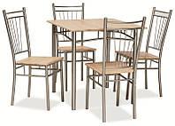 Комплект стол и 4 стула  Fit SIGNAL