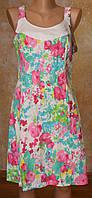 Летнее платье-сарафан (лен)