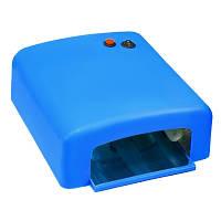 Лампа  УФ для маникюра  SK 818, 36 Вт, синяя