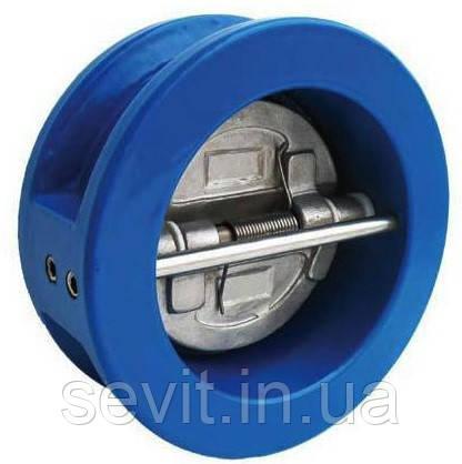 Клапан обратный межфланцевый двухстворчатый Genebre (Испания) тип 2401 14 DN150 PN16 ДУ150 РУ16