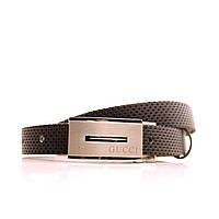 Ремень Lazar кожаный гвоздик L20S0G21 105-115 см