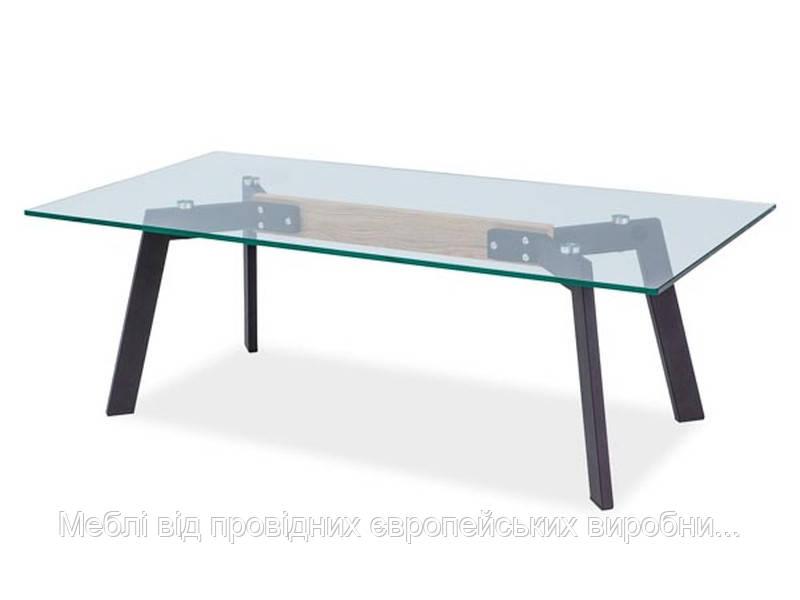 Журнальный столик Celso B стеклянный SIGNAL