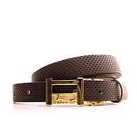 Ремень Lazar кожаный гвоздик L20S0G34 105-115 см