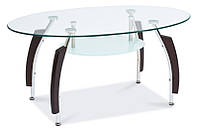 Журнальный столик Inessa B стеклянный SIGNAL