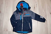 Демисезонная куртка на мальчика 116- 140  Куртка курточка - парка для мальчика демисезонная , фото 1